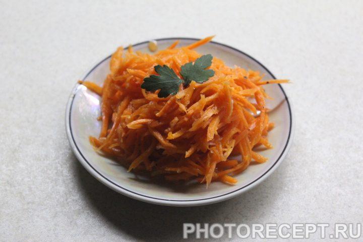 Фото рецепта - Морковка по-корейски - шаг 8