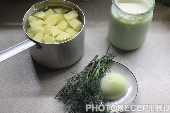 Фото рецепта - Нежное картофельное пюре - шаг 1
