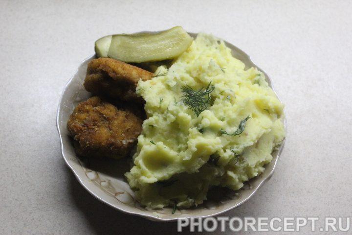 Фото рецепта - Нежное картофельное пюре - шаг 9