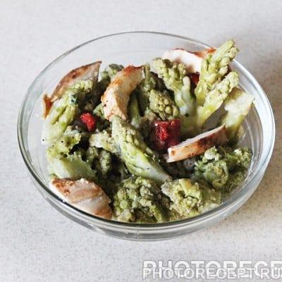 Горячий салат из капусты романеско - рецепт с фото