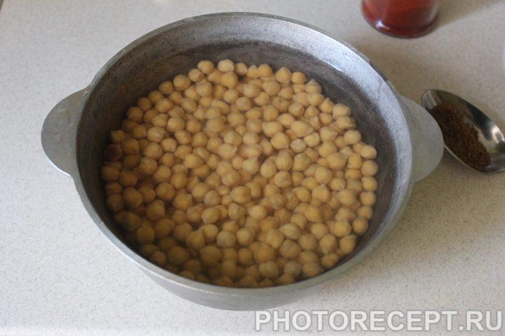 Фото рецепта - Еврейский хумус - шаг 2