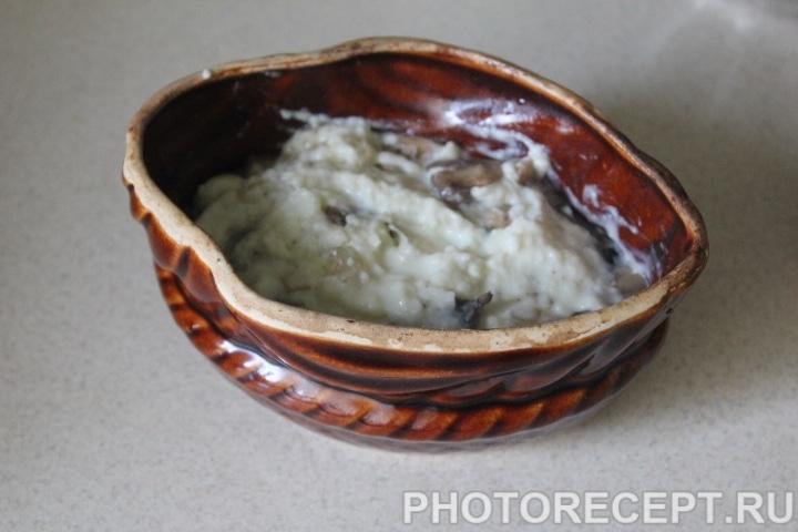 Фото рецепта - Жульен с соусом бешамель - шаг 8