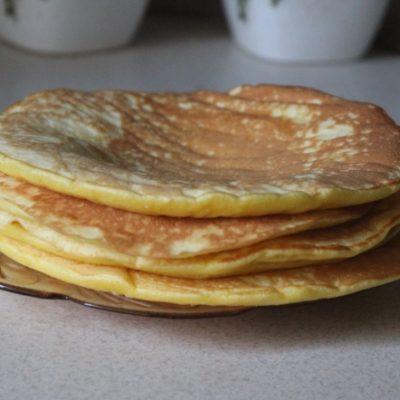 Медовые панкейки - рецепт с фото