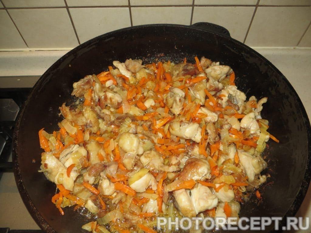 Фото рецепта - Плов с курицей - шаг 9