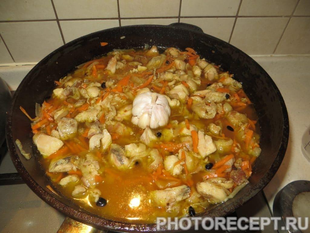 Фото рецепта - Плов с курицей - шаг 13