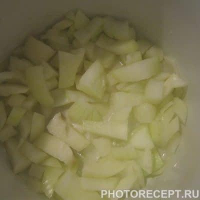Фото рецепта - Рыбно-сливочный суп с сёмгой - шаг 2