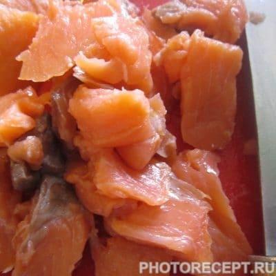 Фото рецепта - Рыбно-сливочный суп с сёмгой - шаг 5