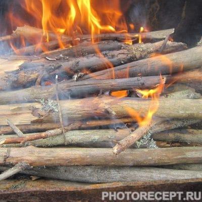 Фото рецепта - Запечённый в фольге минтай с картофелем и грибами - шаг 7