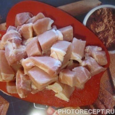 Фото рецепта - Мясо под сливочным соусом - шаг 3