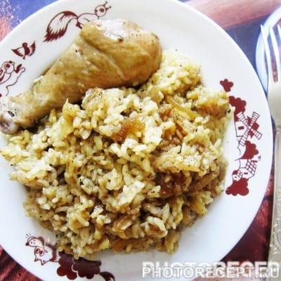 Курица с рисом в соевом соусе - рецепт с фото