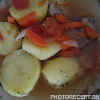 Фото рецепта - Шурпа из свинины - шаг 10