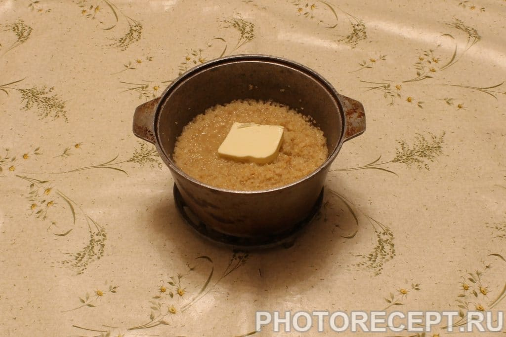 Фото рецепта - Пшеничная каша - шаг 3