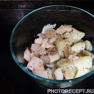 Фото рецепта - Тушеная рыба - шаг 4