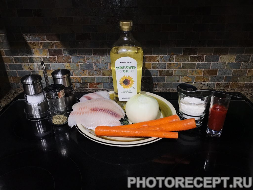 Фото рецепта - Тушеная рыба - шаг 1