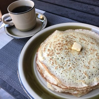 Вкусные блины на молоке - рецепт с фото