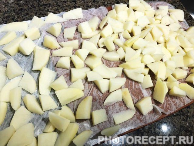Фото рецепта - Жареная картошка - шаг 2