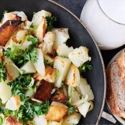 Жареная картошка - рецепт с фото