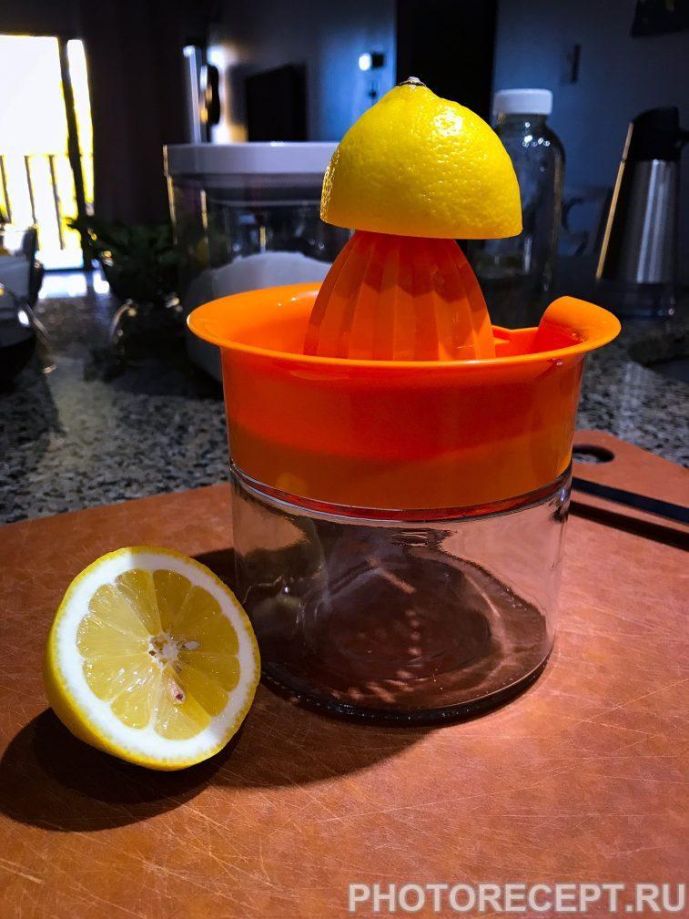 Фото рецепта - Лимонад с мятой и имбирем - шаг 2