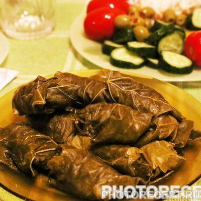 Долма, приготовленная в пароварке - рецепт с фото