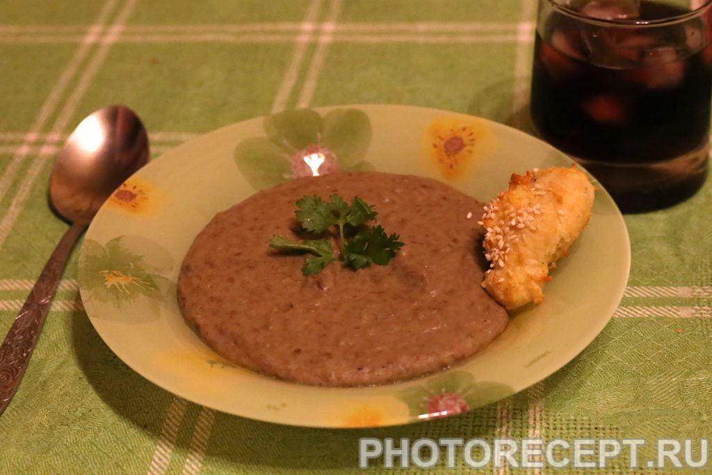 Фото рецепта - Суп-пюре из чечевицы - шаг 4