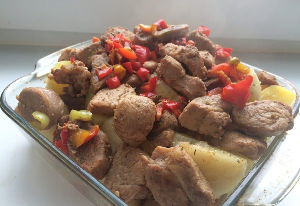 Фото рецепта - Жаркое из свинины - шаг 5