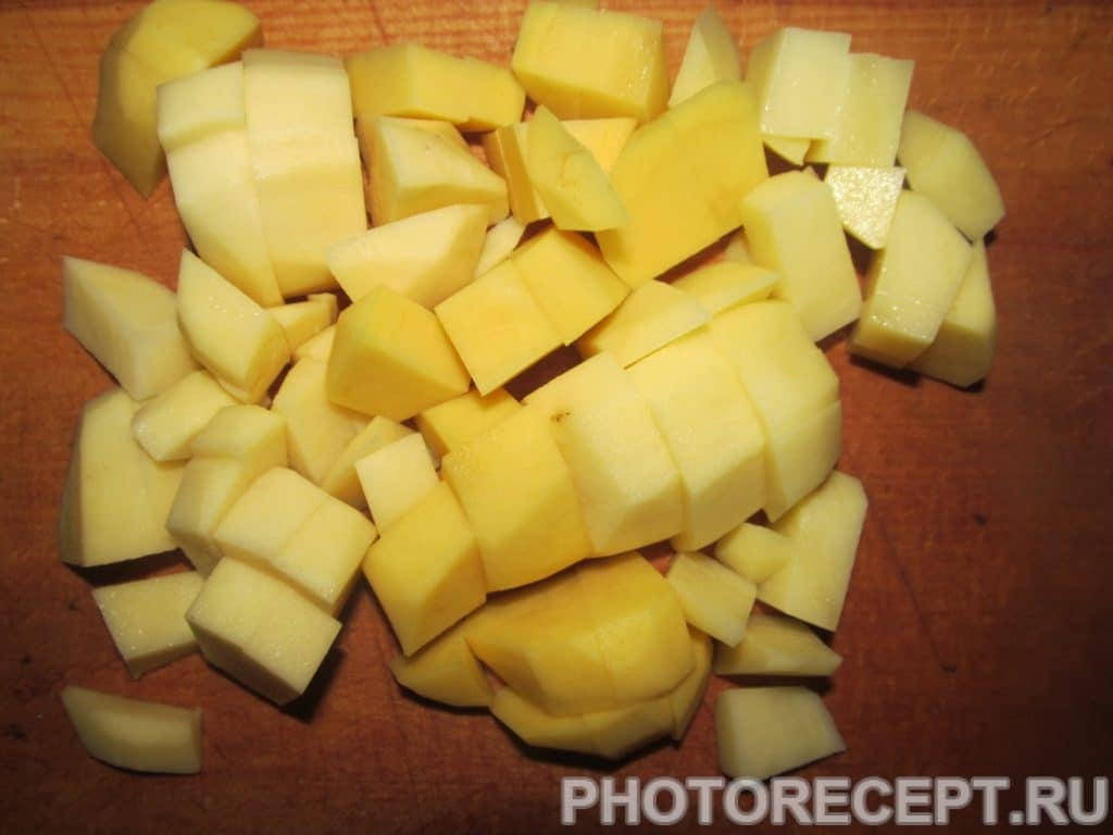 Фото рецепта - Сырный крем-суп с беконом - шаг 2