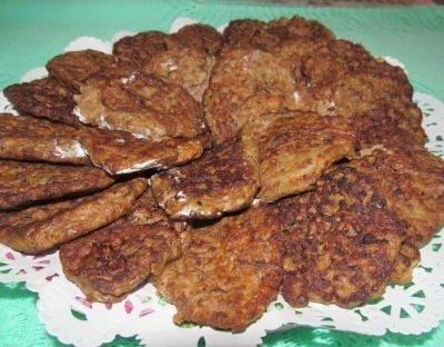 Печеночные котлеты из куриной печени - рецепт с фото