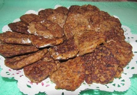 Печеночные котлеты из куриной печени