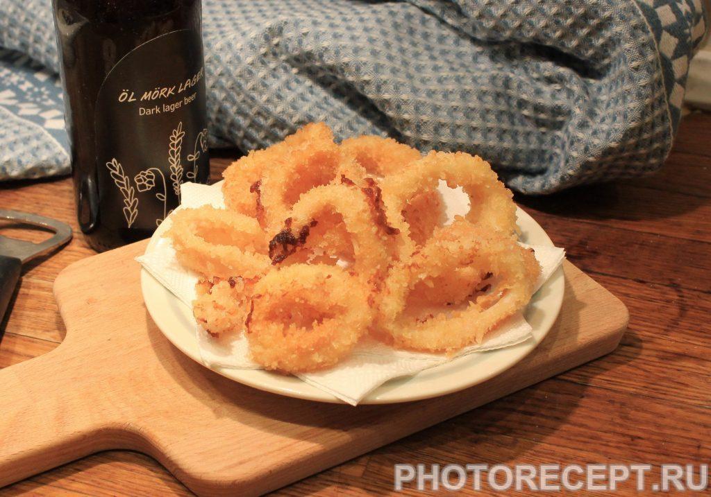 Фото рецепта - Кальмары в кляре - шаг 6
