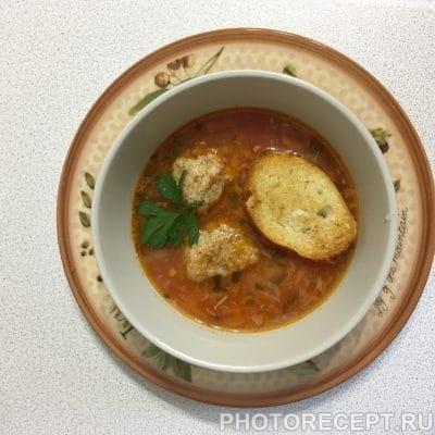Фото рецепта - Суп из рыбных консервов-как в лучшем итальянском ресторане! - шаг 7