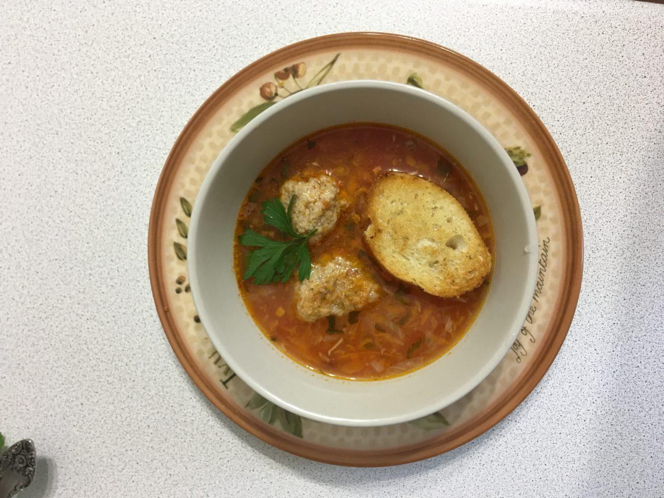 Суп из рыбных консервов-как в лучшем итальянском ресторане!