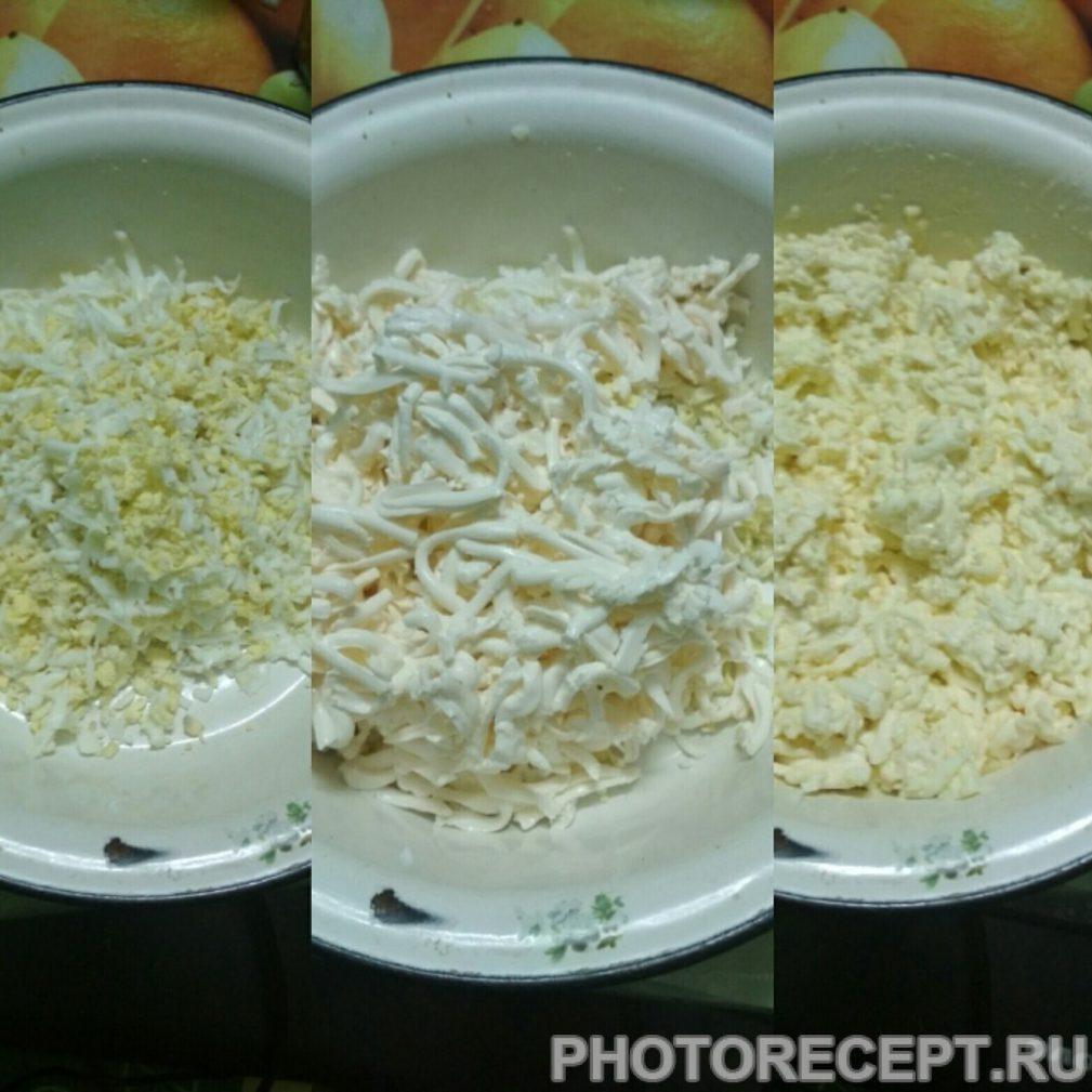 """Фото рецепта - Салат из помидоров и мяса """"Мужское наслаждение"""" - шаг 3"""