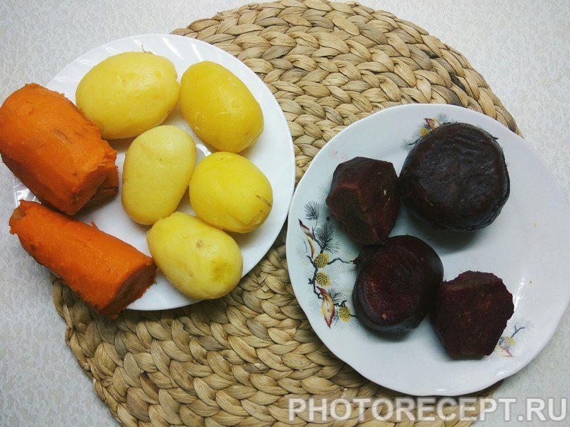 Фото рецепта - Студенческий винегрет - шаг 3