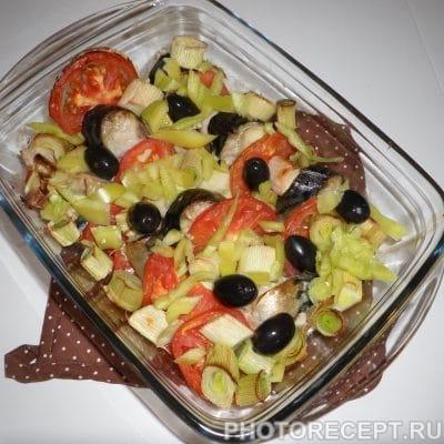 Скумбрия, запеченная в духовке - рецепт с фото