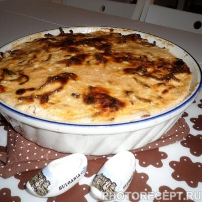 Мусака по-болгарски - рецепт с фото