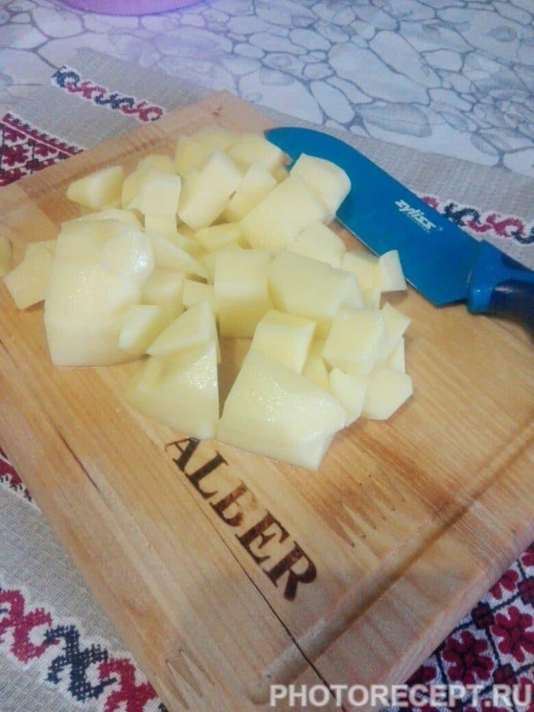 Фото рецепта - Курица с овощами в духовке - шаг 2