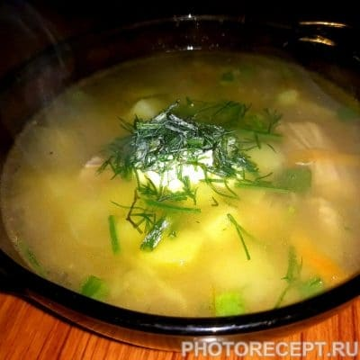 Ароматный рассольник с рисом - рецепт с фото