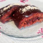 Очень шоколадное пирожное