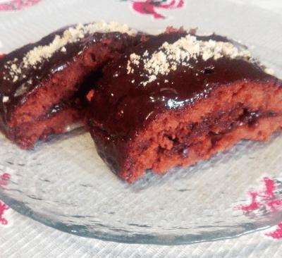 Очень шоколадное пирожное - рецепт с фото
