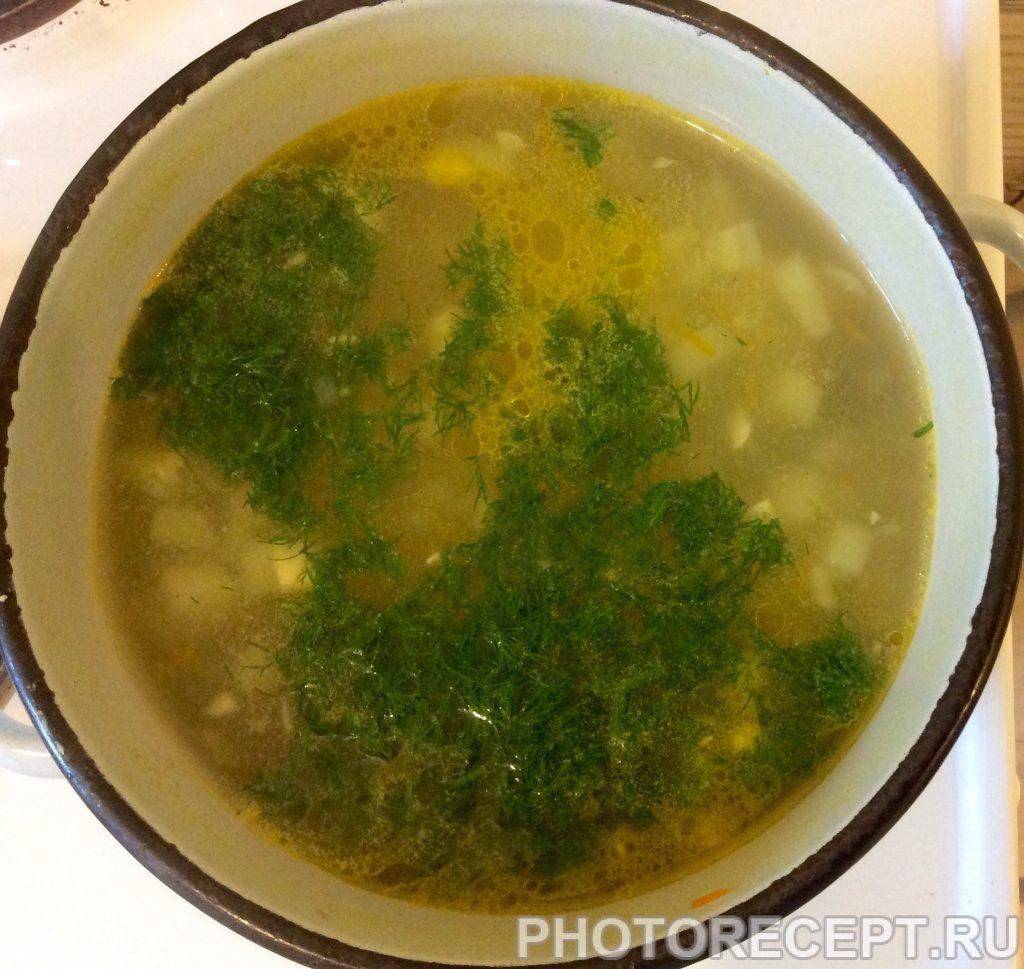 Фото рецепта - Суп из кабачков - шаг 9