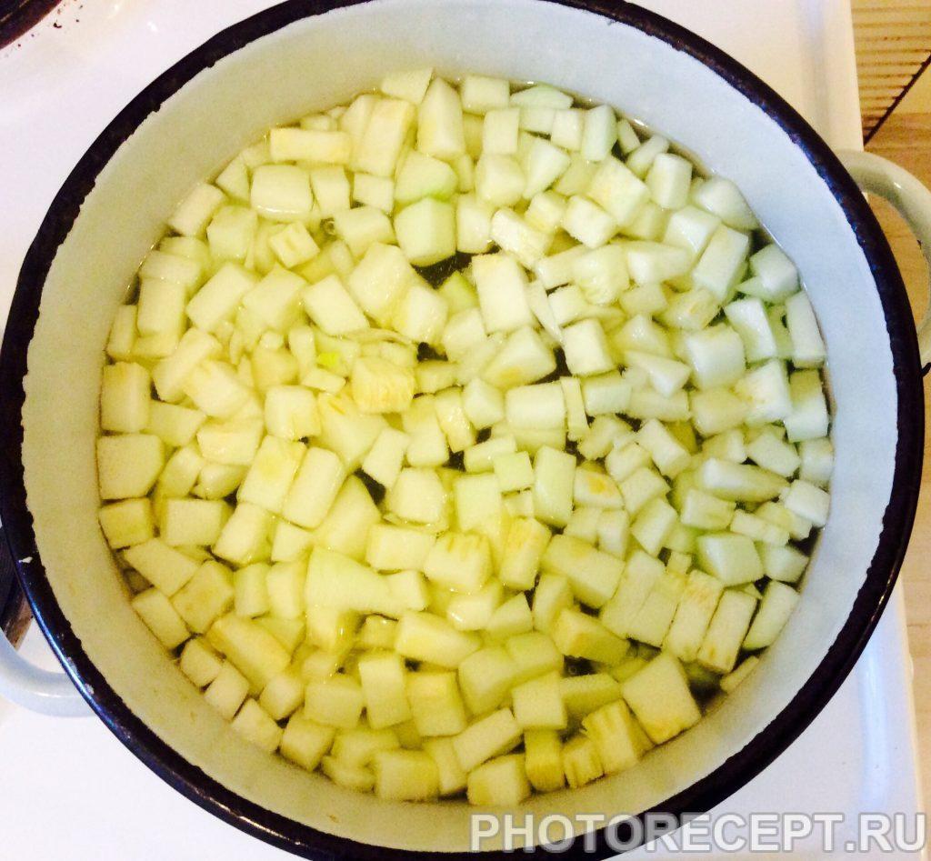 Фото рецепта - Суп из кабачков - шаг 6