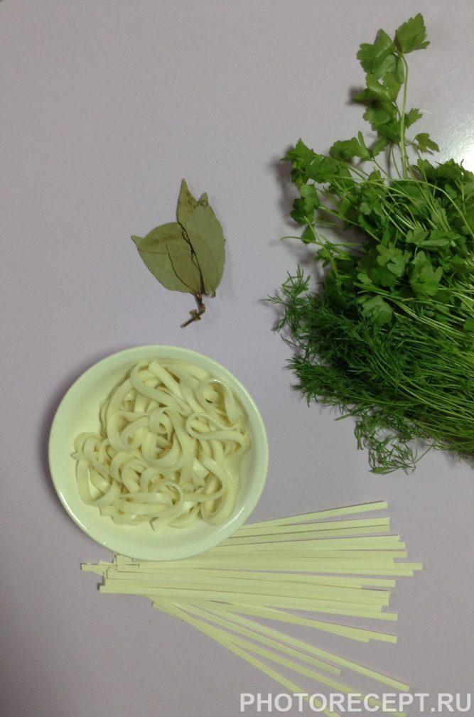 Фото рецепта - Овощной суп с пшеничной лапшой - шаг 4