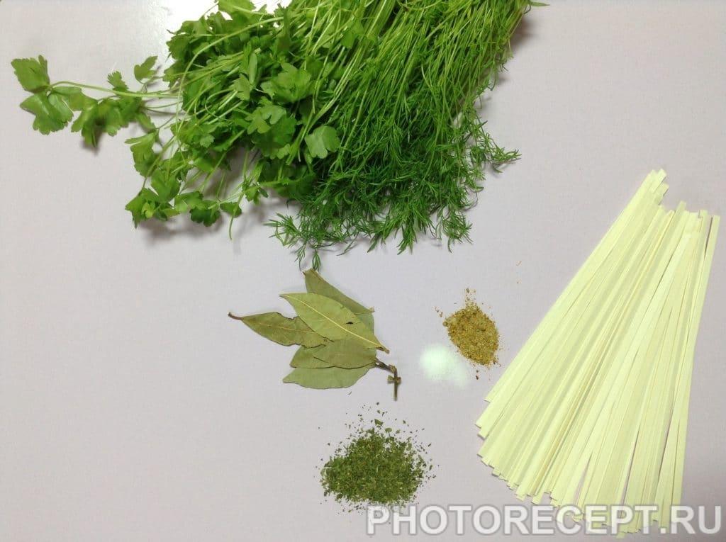 Фото рецепта - Овощной суп с пшеничной лапшой - шаг 3