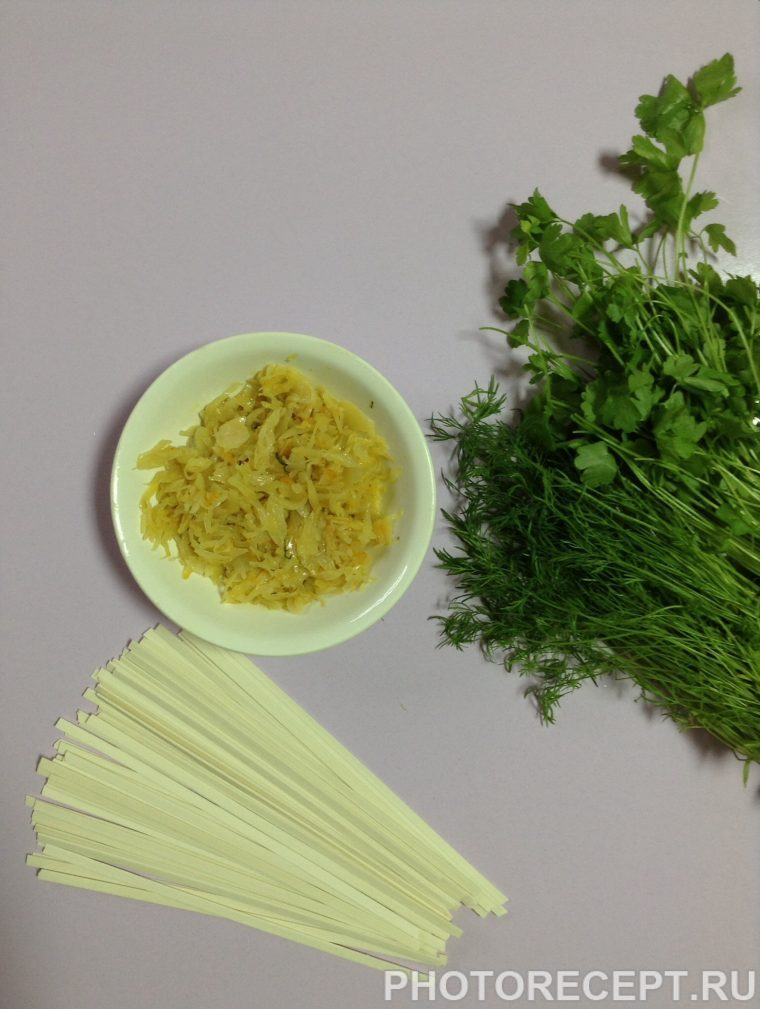 Фото рецепта - Овощной суп с пшеничной лапшой - шаг 2