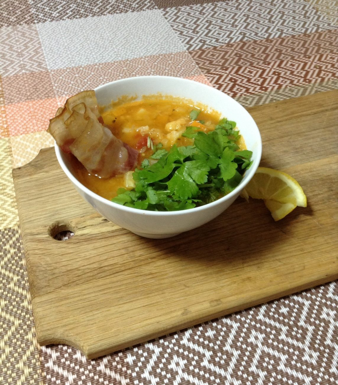 "Овощной суп ""Минестроне"""