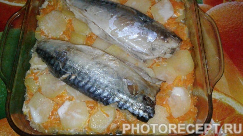 Фото рецепта - Рыба запеченная с овощами - шаг 4