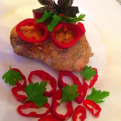 Куриное мясо в соевом соусе, запеченное в духовке - рецепт с фото