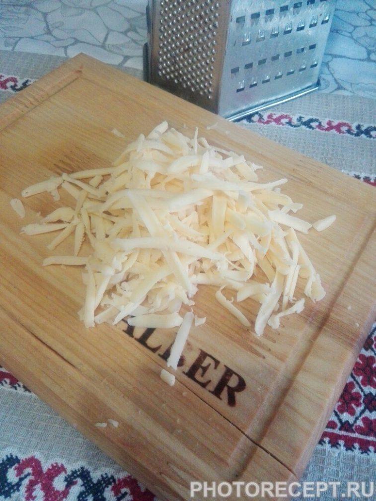 Фото рецепта - Крабовичек с чесночной заправкой - шаг 4