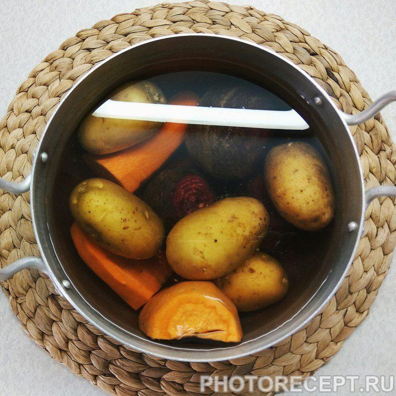 Фото рецепта - Студенческий винегрет - шаг 1