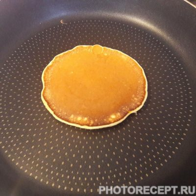 Фото рецепта - Тыквенные панкейки - шаг 5